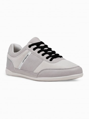Ombre Clothing Moške casual superge rivers siva