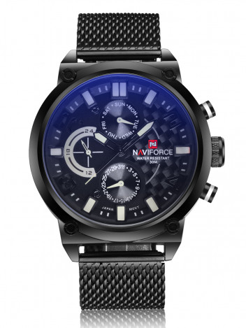Mens Watch Oversee Black