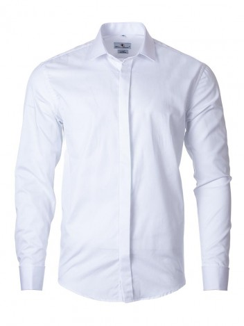 Mens Shirt Trust White 176-182/39