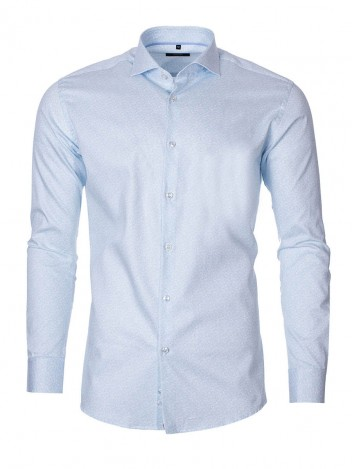 Mens Shirt Nation Light Blue size 38
