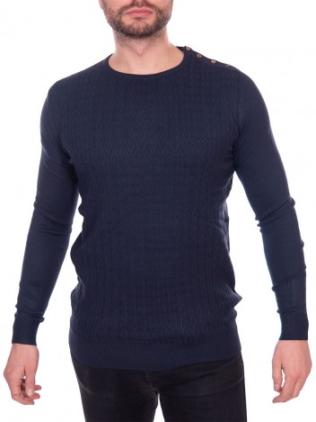 Mens Jumper Macario Navy