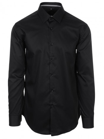 Mens Shirt Baron Black