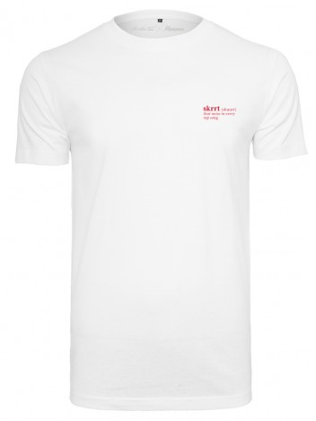 Mens T-Shirt Skrrt White
