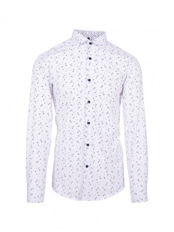Mens Shirt Flake White